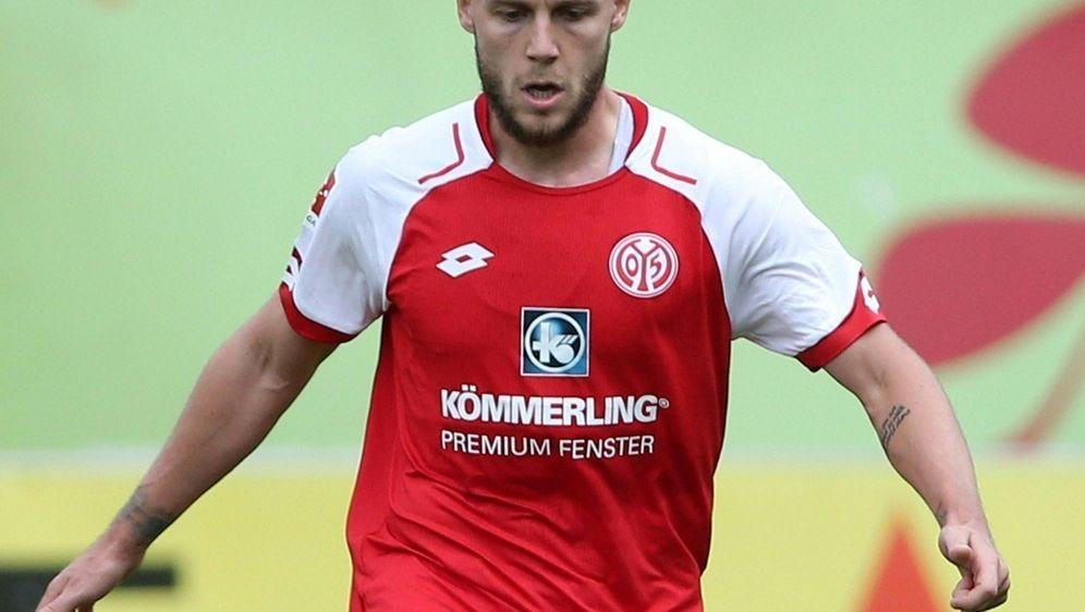 Alexandru Maxim mit dem Siegtreffer für Mainz 05 - Bildquelle: PIXATHLONPIXATHLONSID