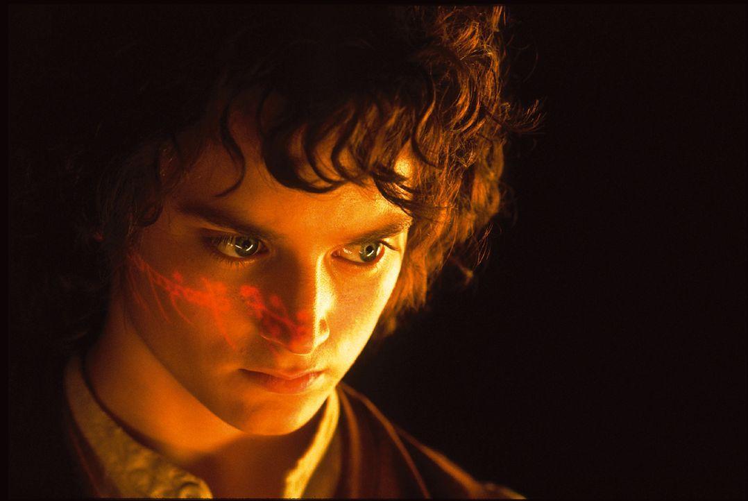 Die Macht des Ringes zieht Frodo (Elijah Wood) immer stärker in seinen Bann ... - Bildquelle: Warner Brothers