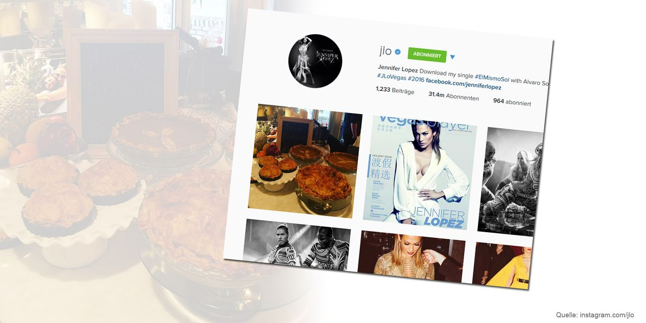 Thanksgiving-Jennifer-Lopez-instagram-com-jlo - Bildquelle: instagram.com/jlo