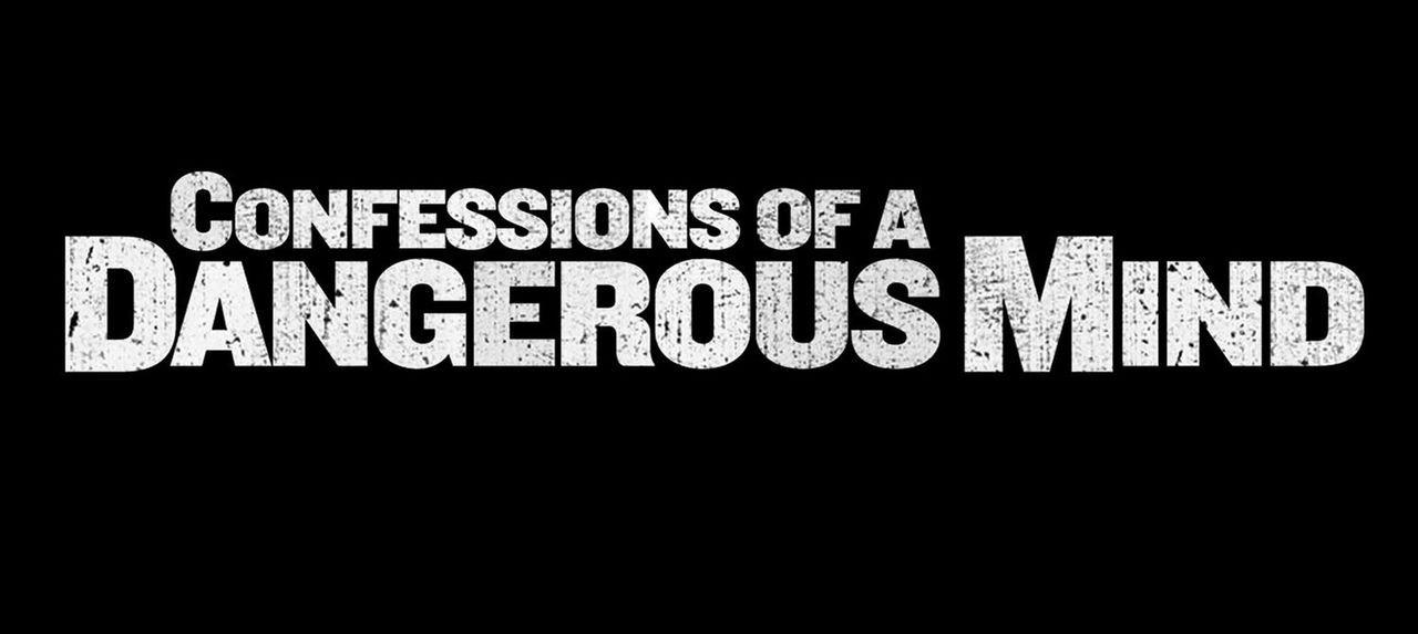 Originaltitel-Logo zu Geständnisse - Confessions of a Dangerous Mind - Bildquelle: Takashi Seida Miramax Films