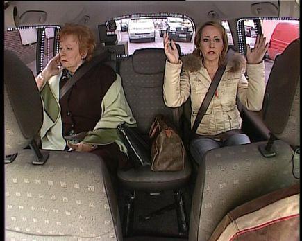 """Quiz Taxi - Im """"Quiz Taxi"""": Hildegard Krekel ... - Bildquelle: kabe..."""