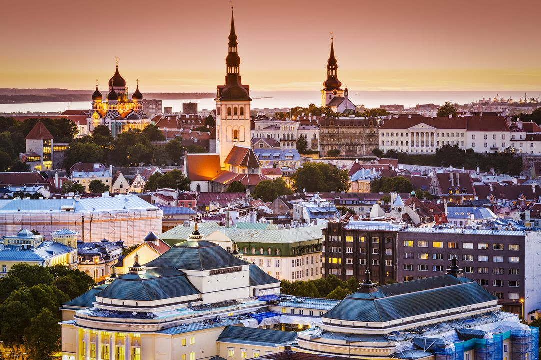 Tallin Estland Fotolia  - Bildquelle: SeanPavonePhoto - Fotolia