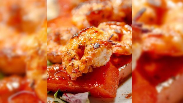 garnelenwassermelone
