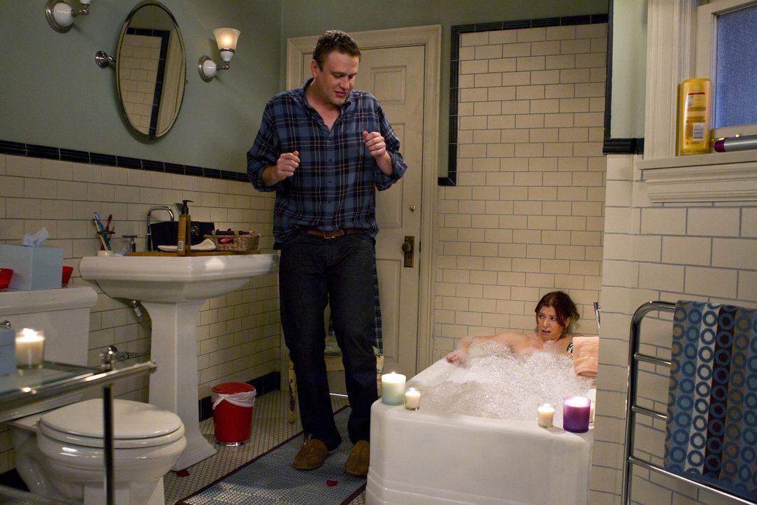 Sind sie wirklich ihren Vätern zu ähnlich? Marshall (Jason Segel, l.) und Lily (Alyson Hannigan, r.) ... - Bildquelle: 20th Century Fox International Television