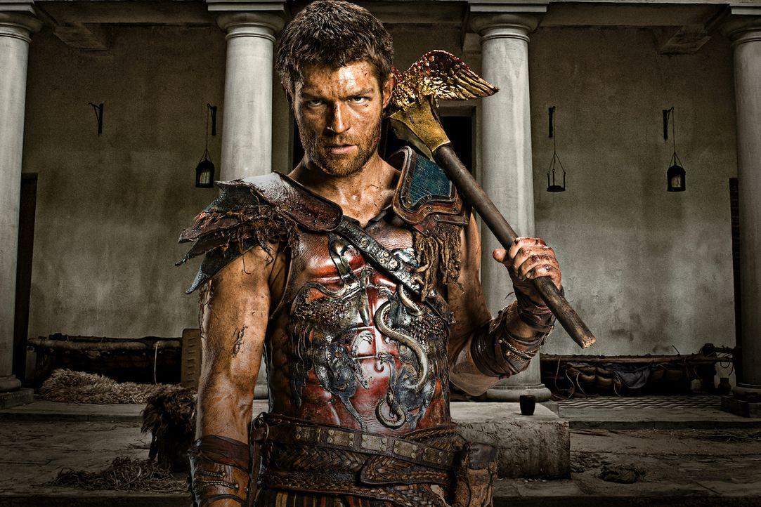 Mit tausenden entflohenen Sklaven nimmt Spartacus (Liam McIntyre) den Kampf mit den Römern auf. Doch dann entschließt sich Crixus, mit einem Teil de... - Bildquelle: 2012 Starz Entertainment, LLC. All rights reserved.