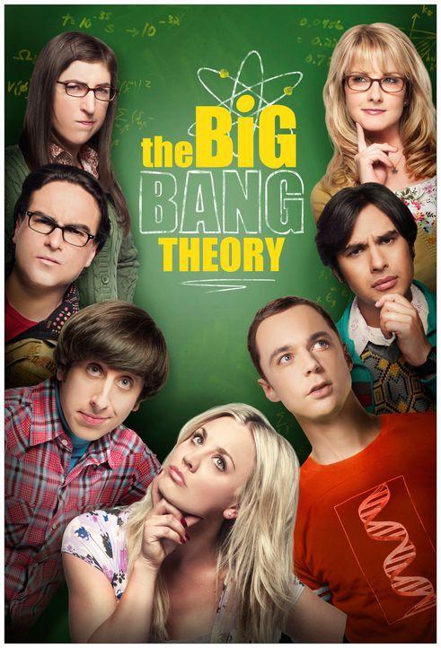 (8. Staffel) - The Big Bang Theory: (von oben l. nach oben r.) Amy (Mayim Bialik), Leonard (Johnny Galecki), Howard (Simon Helberg), Penny (Kaley Cu... - Bildquelle: Warner Bros. Television