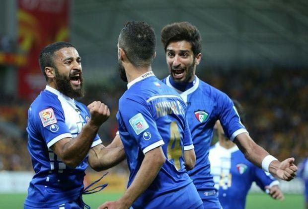 Nicht mehr sanktioniert: Kuwaits Nationalmannschaft