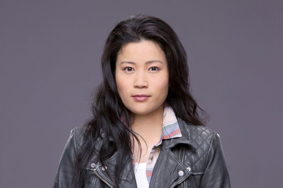 (1. Staffel) - Ein Gewinn für das Team: Happy (Jadyn Wong) ist in der Lage, mit chirurgischer Präzision, unbeschreiblicher Schnelligkeit und nur mit... - Bildquelle: Sonja Flemming 2014 CBS Broadcasting, Inc. All Rights Reserved