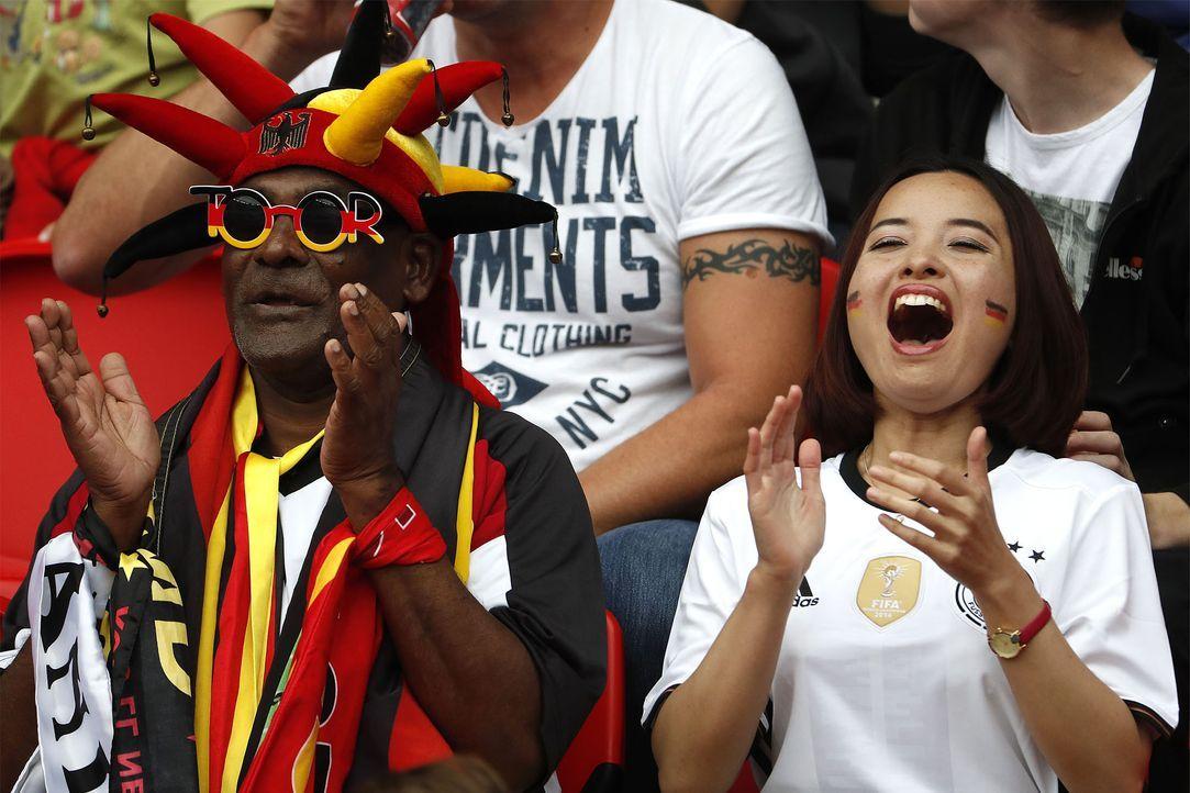 German supporters_000_C72K8_ODD ANDERSEN_AFP - Bildquelle: AFP / ODD ANDERSEN