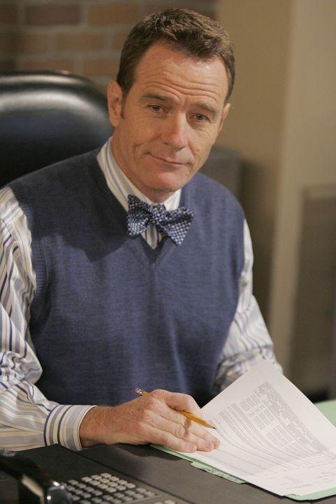 In ihrem neuen Job muss Lily erfahren, dass Teds Chef, der berühmte Hammond Druthers (Bryan Cranston), ein ungerechter Leuteschinder ist ... - Bildquelle: 20th Century Fox International Television