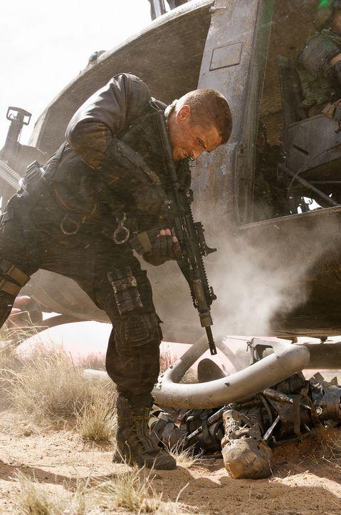Der Widerstand hat einen Namen: John Connor (Christian Bale)! Er ist der Anführer und einzige Hoffnungsträger der menschlichen Rebellion im zukün... - Bildquelle: 2009 T Asset Acquisition Company, LLC. All Rights Reserved.