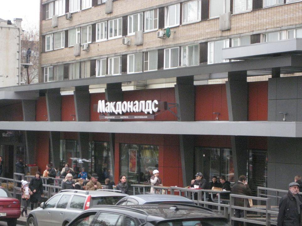 Europas größtes Burger-Restaurant liegt mitten in Moskau. - Bildquelle: kabel eins