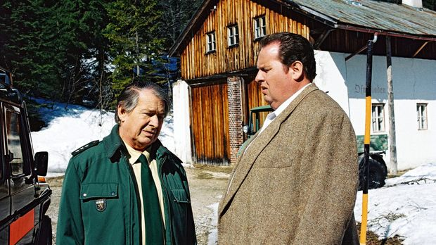Benno (Ottfried Fischer, r.) und sein alter Freund Rudolf Schenkmeier (Erich...