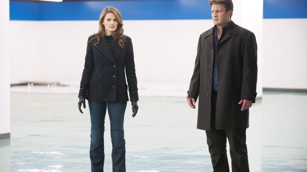 Kate Beckett (Stana Katic, l.) und Richard Castle (Nathan Fillion, r.) wollen...