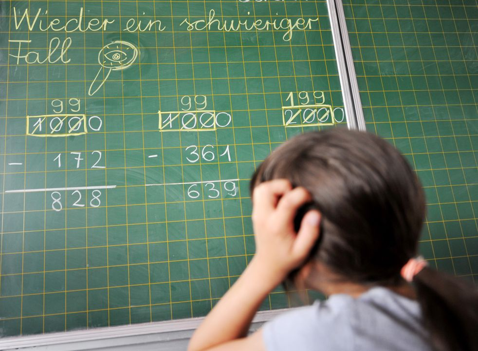 Überforderte Kinder - Bildquelle: dpa