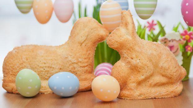 Ein Osterlamm gehört Ostern einfach dazu. Das Lamm und seinen Freund gibt es...