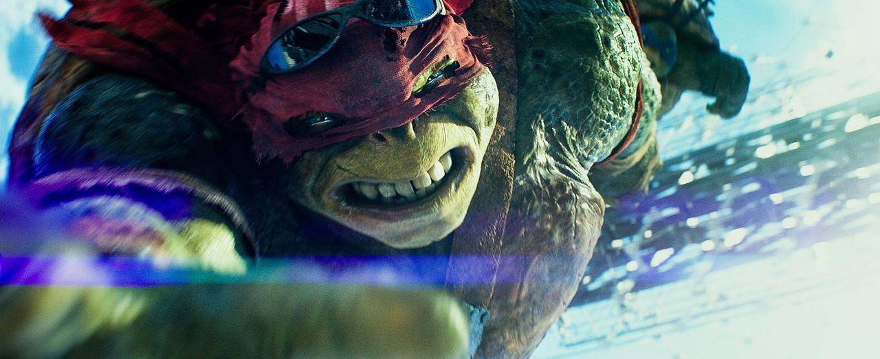 teenage-mutant-ninja-turtles-18-Paramount-Pictures - Bildquelle: Paramount Pictures