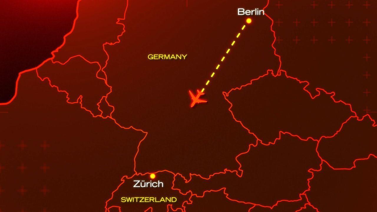 November, 2001: Nach einem kurzen Routine-Flug von Berlin aus, nähert sich der Crossair Flug 3597 seinem Zielflughafen Zürich. Nur wenige Minuten vo... - Bildquelle: Cineflix 2010