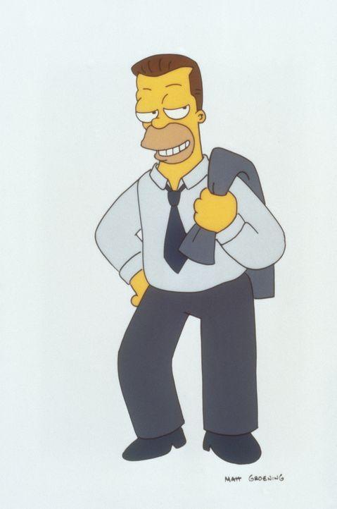 Homers Vater verrät seinem Sohn ein Geheimnis: Homer hat einen unehelichen Halbbruder. Die Überraschung ist groß, als sich der Halbbruder (Bild) als... - Bildquelle: und TM Twenthieth Century Fox Film Corporation - Alle Rechte vorbehalten