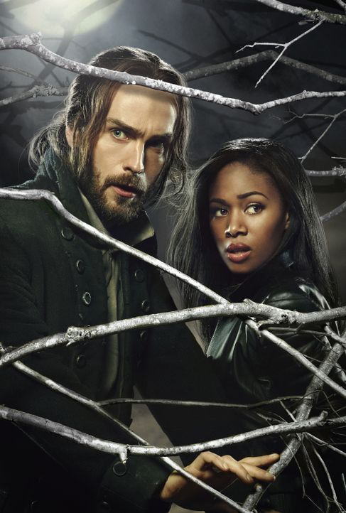(2. Staffel) - Der Kampf gegen das Böse bringt Ichabod (Tom Mison, l.) und Abbie (Nicole Beharie, r.) immer wieder in Lebensgefahr ... - Bildquelle: 2014 Fox and its related entities. All rights reserved.
