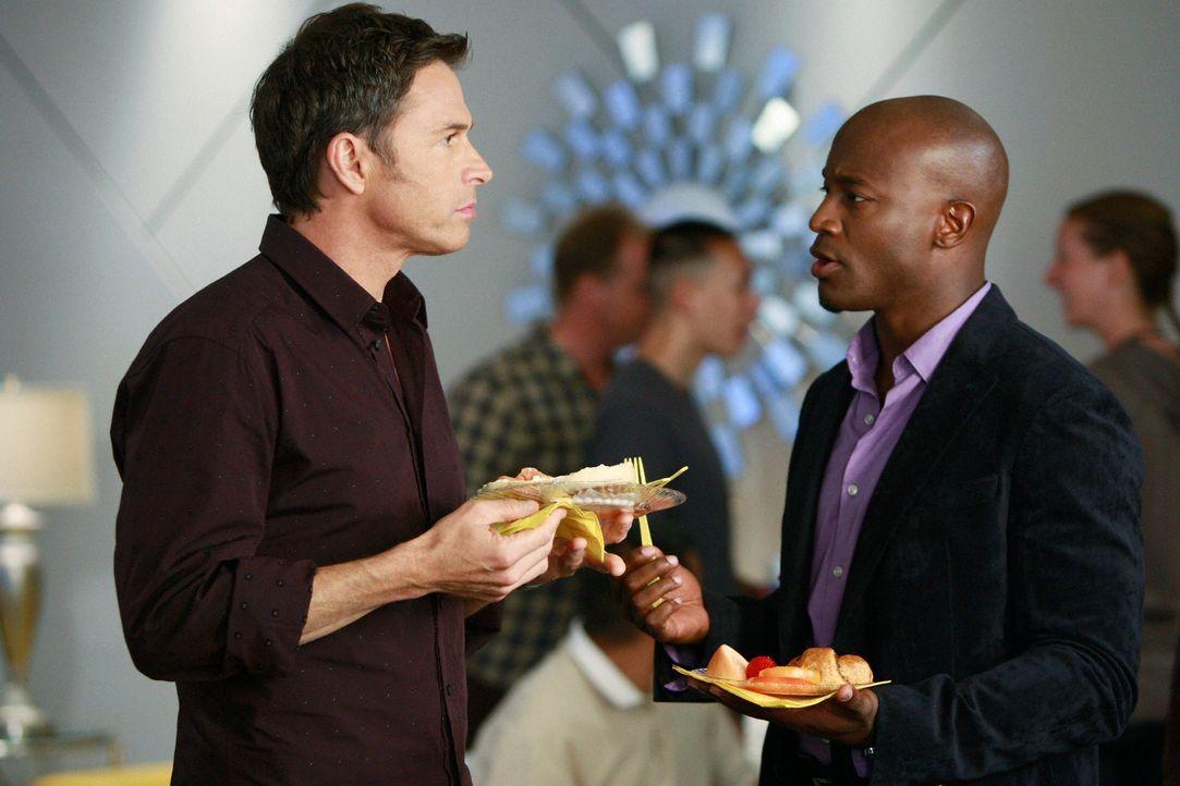 Haben eine großen Plan: Sam (Taye Diggs, r.) und Pete (Tim Daly, l.) ... - Bildquelle: ABC Studios