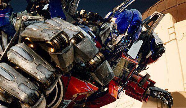 """Platz 8: Optimus Prime aus Transformers - Bildquelle: """"Transformers"""": auf DVD erhältlich (© 2007 DreamWorks LLC and Paramount Pictures)"""