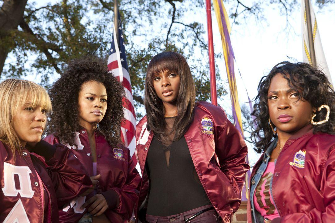 """Die """"Theta Nus"""" Nikki (Tika Sumpter, 2.v.r.) und Rena (Teyana Taylor, 2.v.l.) setzen auf Sieg, aber ihr Fuchs ist momentan mit vielen persönlichen... - Bildquelle: 2010 Sony Pictures Worldwide Acquisitions Inc. All Rights Reserved"""