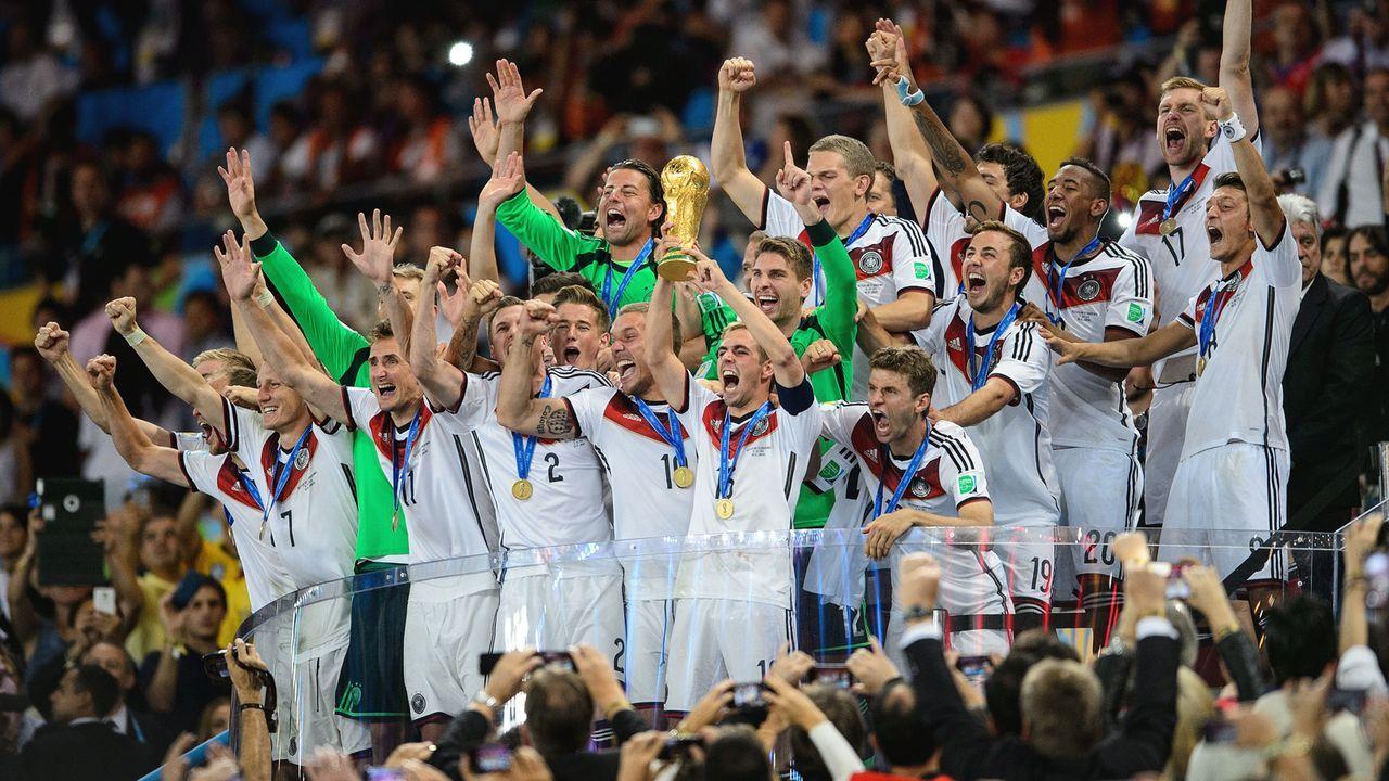 Der Klub der Weltmeister soll exklusiv bleiben - Bildquelle: 2014 Getty Images