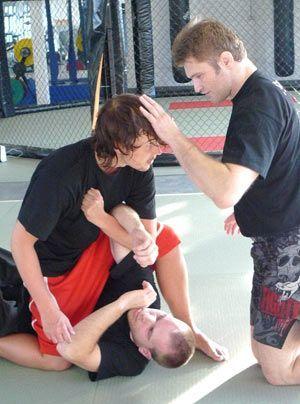 Zwischendurch ist immer wieder Zeit für eine hilfreiche Anweisung des Trainers. - Bildquelle: Susanne Brandes - Sat.1