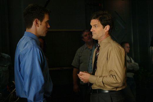 Without a Trace - Auch privat führt Luke Horton (Jeremy Garrett, l.) ein Dopp...