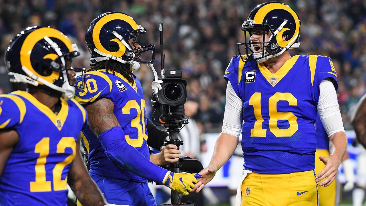 Platz 5: Los Angeles Rams (11-3, Vorwoche: Platz 3) - Bildquelle: 2018 Getty Images