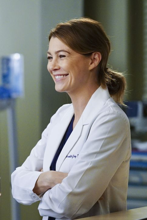Während Dr. Herman die positive Seite von Arizona erkennt, versucht Meredith (Ellen Pompeo) Maggies Fragen über Washington aus dem Weg zu gehen ... - Bildquelle: ABC Studios
