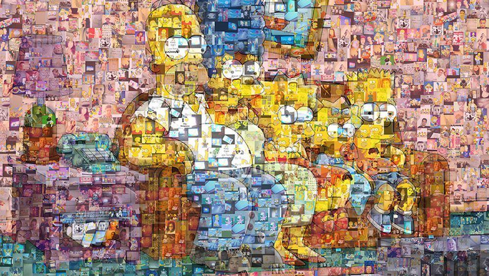 Simpsons Mosaik Gewinnspiel