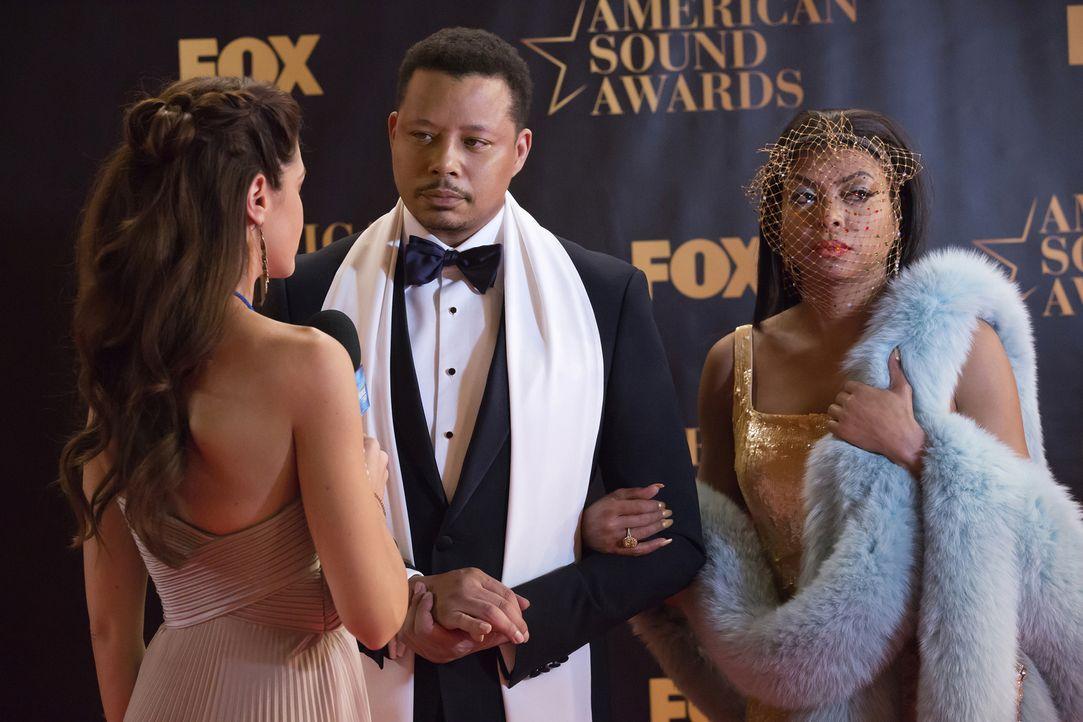 Die ASA-Verleihung steht vor der Tür. Doch für Cookie (Taraji P. Henson, r.) und Lucious (Terrence Howard, M.) verläuft der Abend völlig anders, als... - Bildquelle: 2015-2016 Fox and its related entities.  All rights reserved.