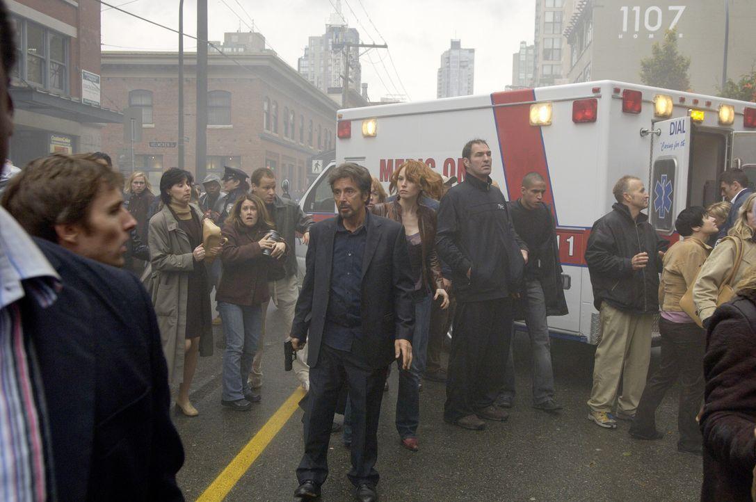 Begibt sich gezielt auf die Suche nach seinem Peiniger: Jack Gramm (Al Pacino, M.) - Bildquelle: Nu Image