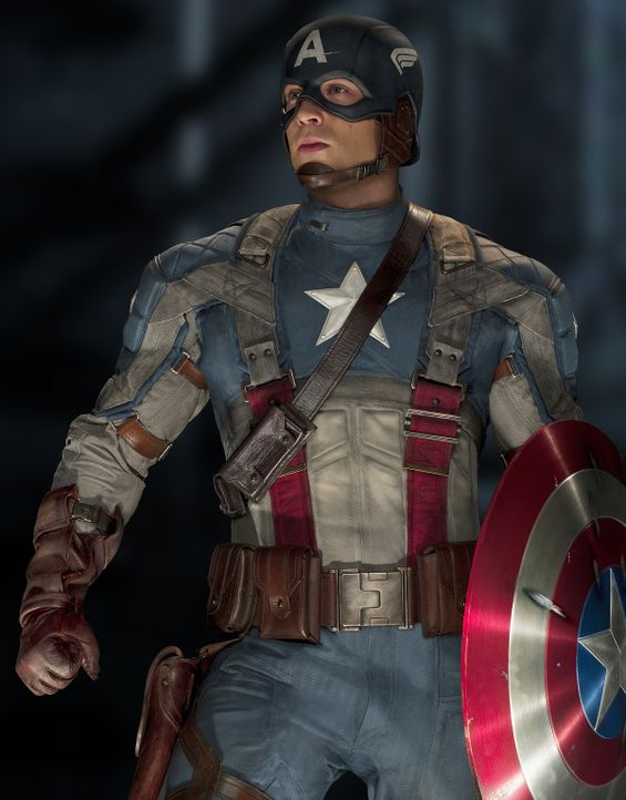 Kaum ist er der neue Kriegsheld, da steht auch schon Captain America (Chris Evans) die bisher größte Prüfung seines Lebens bevor: Der Kampf gegen... - Bildquelle: TM &   2011 Marvel Entertainment, LLC & subs. All Rights Reserved.