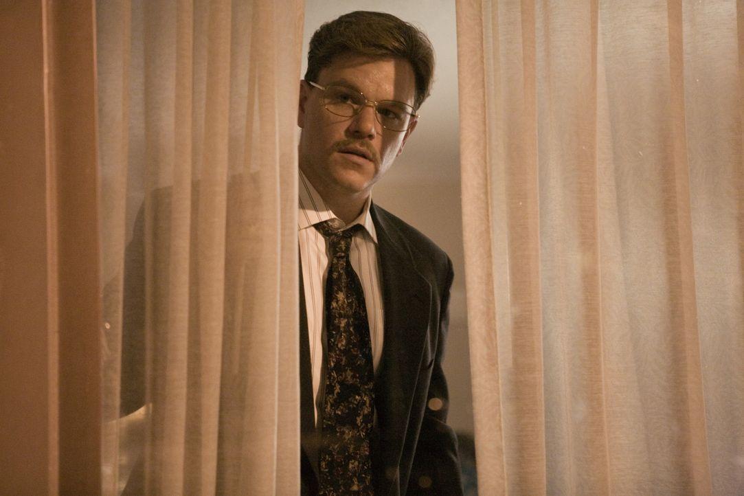 Unerbittlich und mit Hilfe des FBI geht der Biochemiker Dr. Mark Whitacre (Matt Damon) gegen illegale Preisabsprachen, schwarze Konten und Korruptio... - Bildquelle: Warner Bros. Pictures