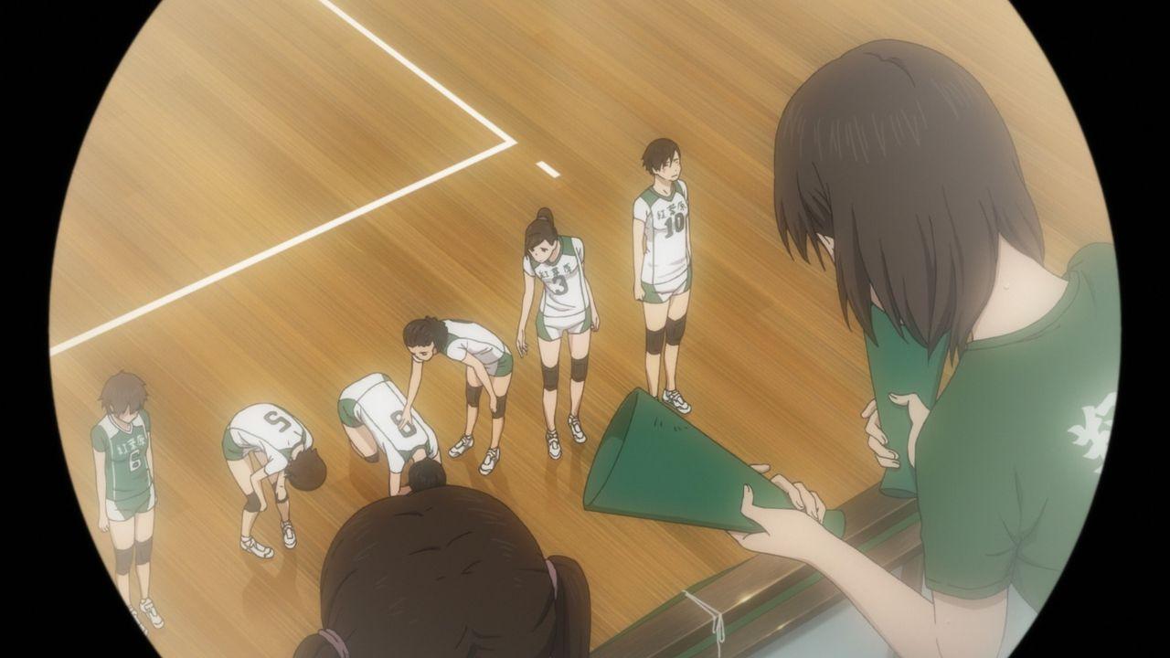 """Mädchenmanschaft Volleyball - Bildquelle: H.Furudate / Shueisha,""""Haikyu!!?Project, MBS"""
