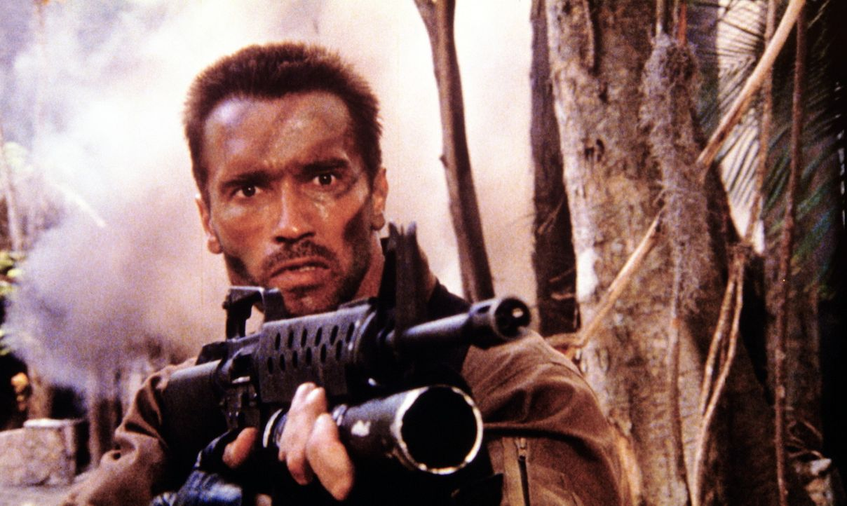 Bis nur noch ein gleichwertiger Kontrahent übrig bleibt: US-Major Dutch Schaefer (Arnold Schwarzenegger) ... - Bildquelle: 20th Century Fox Film Corporation