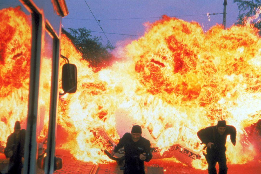 Ein mörderischer Kampf nimmt seinen Lauf ... - Bildquelle: Columbia Pictures Corporation