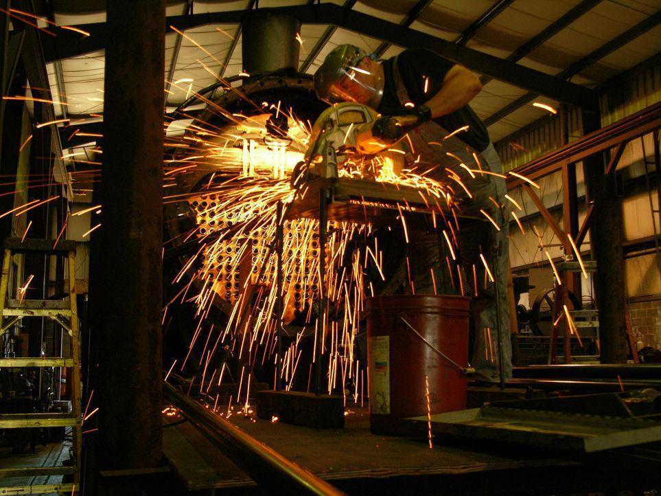"""Lokomotiven und Züge üben bis heute eine große Faszination aus - """"Moderne Wunder"""" besucht rund um den Globus einige der spannendsten Bahnen ... - Bildquelle: Strasburg Railroad"""
