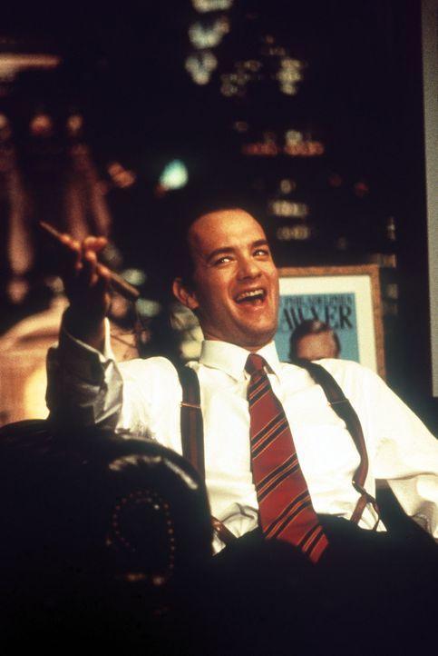 Jung, smart, erfolgreich: Anwalt Andrew Beckett (Tom Hanks) vor seiner Aids-Erkrankung ... - Bildquelle: Columbia Pictures