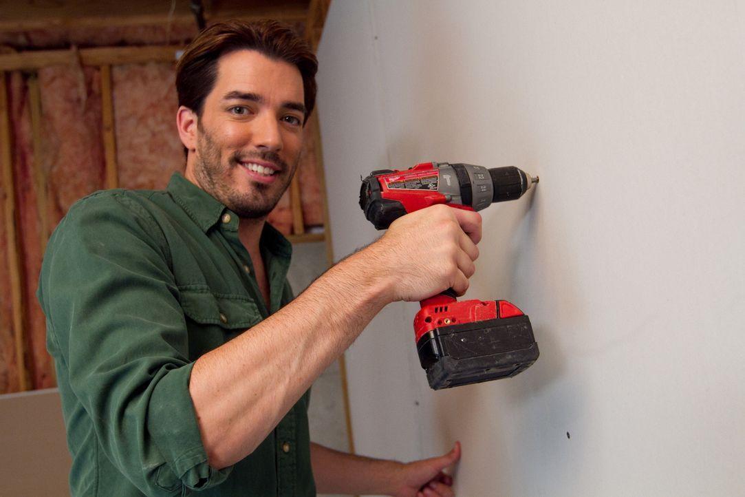 Jonathan gibt sein Bestes, um für die junge Familie ein Zuhause zu erschaffen, in dem sie sich alle wohlführen ... - Bildquelle: Jessica McGowan 2013, HGTV/Scripps Networks, LLC. All Rights Reserved