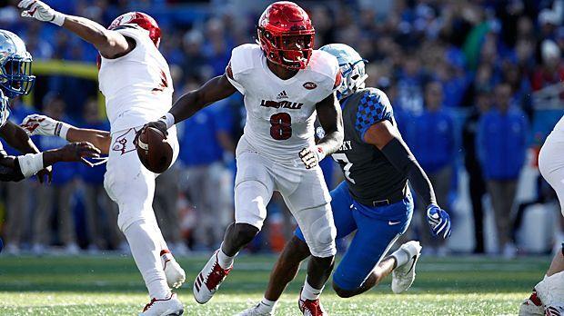 Lamar Jackson (Quarterback) - Bildquelle: 2017 Getty Images