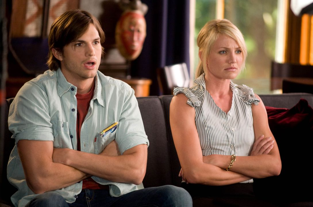 (v.l.n.r.) Jack Fuller (Ashton Kutcher); Joy McNally (Cameron Diaz) - Bildquelle: 2008 Twentieth Century Fox Film Corporation.  All rights reserved.