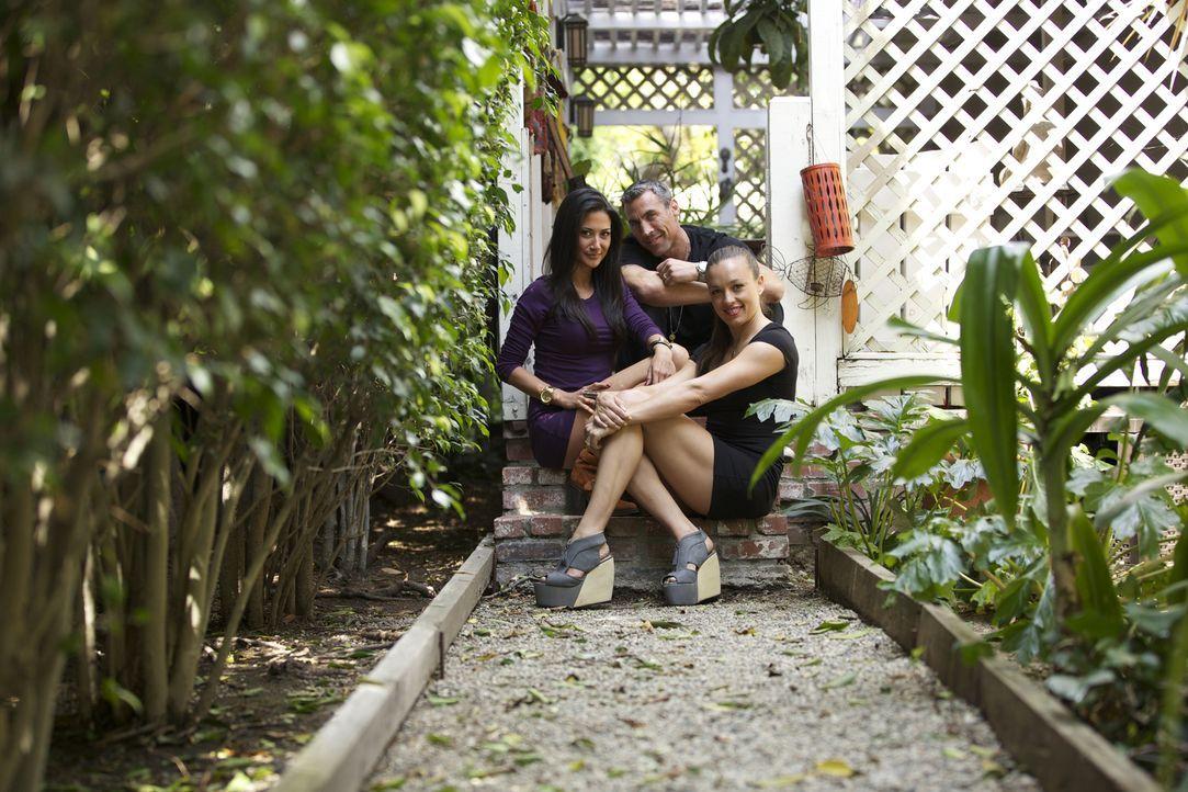 (2. Staffel) - Bei Leigh Ann (r.), Chris (M.) und Megan (l.) sind die Beziehungsverhältnisse nicht vollkommen geklärt ... - Bildquelle: Showtime Networks Inc. All rights reserved.