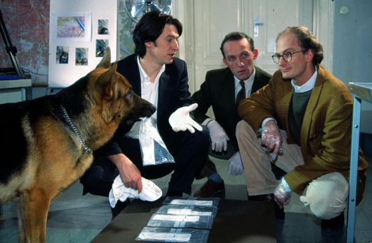 Kommissar Rex - Kommissar Richie Moser (Tobias Moretti, l.) und Assistent Sto...