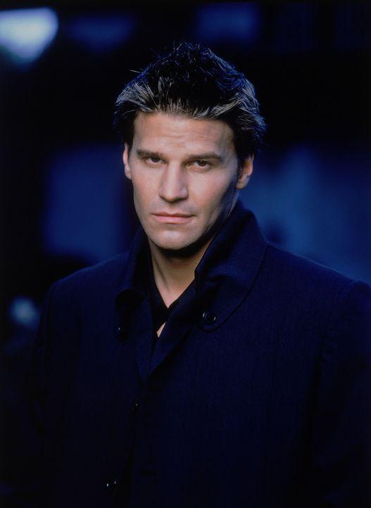 (3. Staffel) - Angel (David Boreanaz) ist der einzige Vampir, der dank eines Fluches über eine Seele und damit über menschliche Züge verfügt. - Bildquelle: (1999) Twentieth Century Fox Film Corporation.