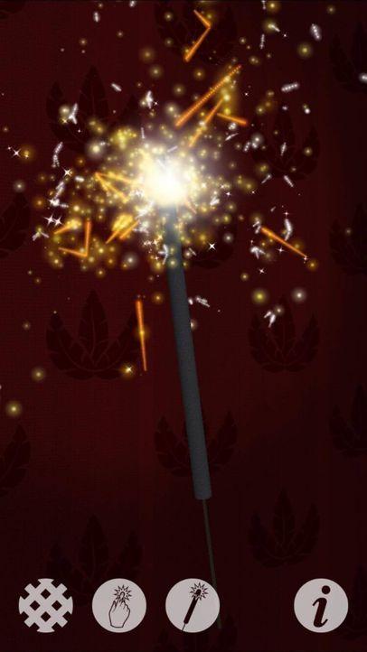 Wunderkerze 3D - Feuerwerk auch für die Kleinsten