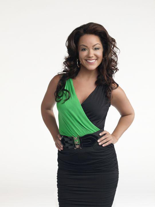 (1. Staffel) - Sie ist schlank und sexy, ganz im Gegenteil zu ihrer Schwester Molly, mit der sie zusammenwohnt: Victoria Flynn (Katy Mixon) - Bildquelle: 2010 CBS Broadcasting Inc. All Rights Reserved.